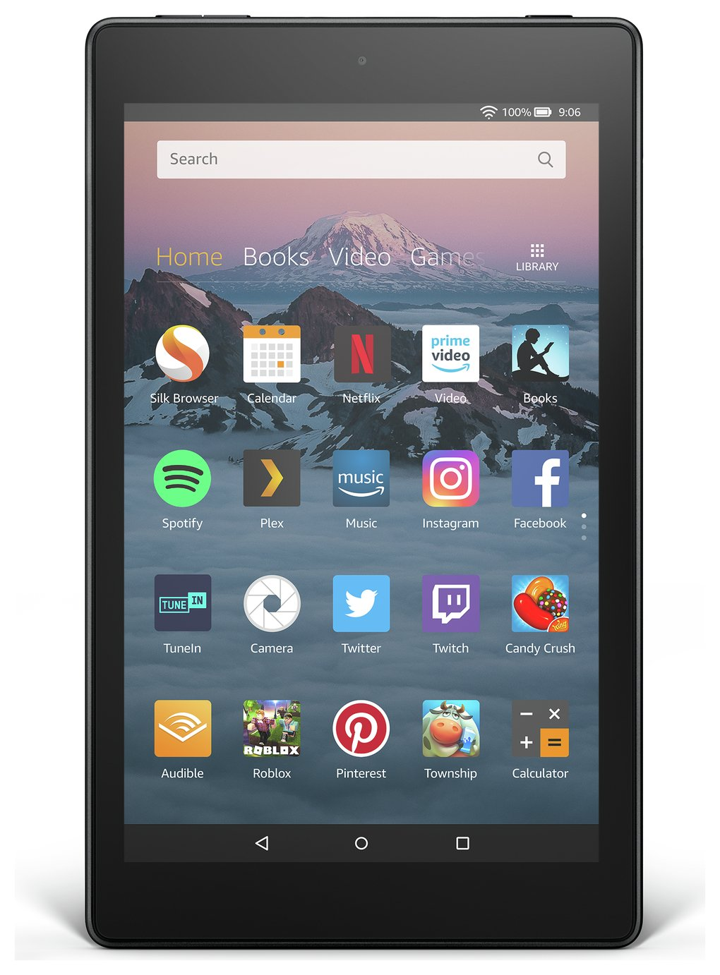 Amazon Fire HD 8 Alexa 8 Inch 16GB Tablet - Black from Amazon