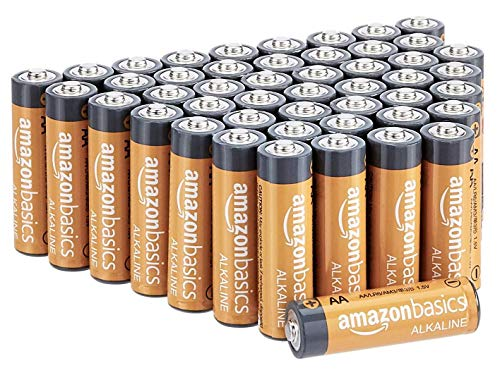 AmazonBasics AA 1.5 Volt Performance Alkaline Batteries - Pack of 48 (Appearance may vary) from AmazonBasics