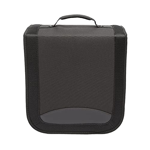 AmazonBasics CD/DVD Binder 400 Disc Capacity Nylon Black from AmazonBasics