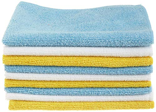 AmazonBasics Microfibre Cleaning Cloths Pack of 24 from AmazonBasics