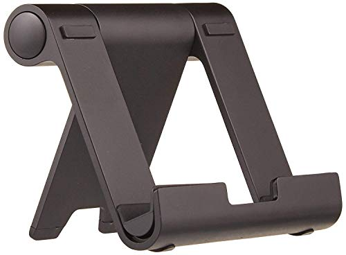 AmazonBasics Multi-Angle Portable Stand for Tablets, E-readers and Phones - Black from AmazonBasics