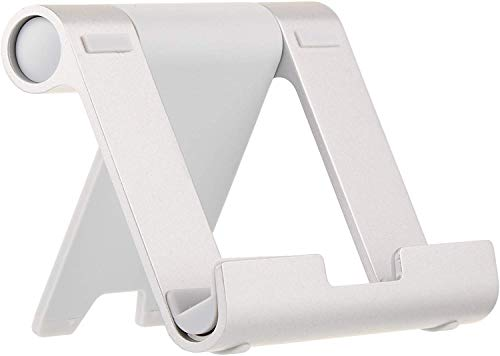AmazonBasics Multi-Angle Portable Stand for Tablets, E-readers and Phones - Silver from AmazonBasics