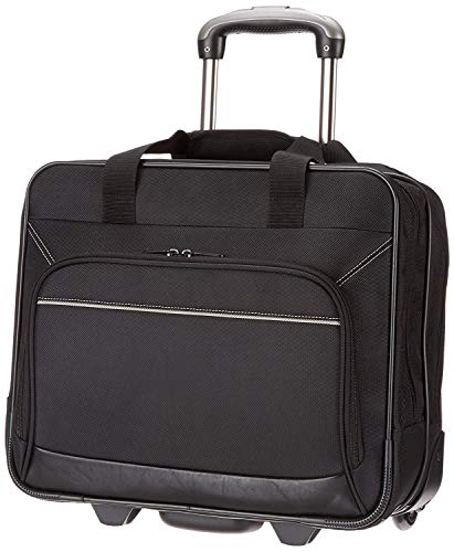 "AmazonBasics Rolling Laptop Case on Wheels - Fits Most Laptops up to 16"" from AmazonBasics"