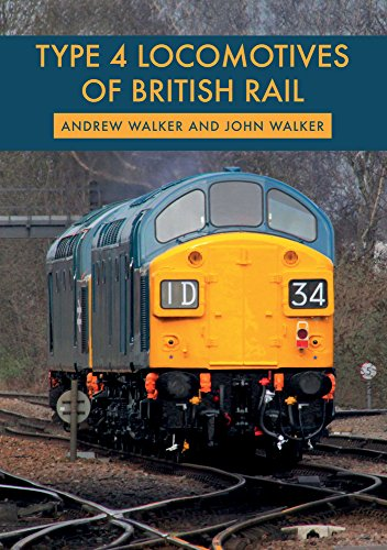 Type 4 Locomotives of British Rail from Amberley Publishing