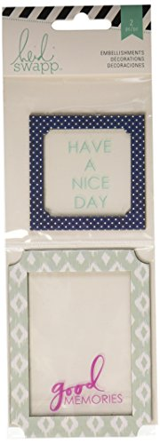 American Crafts Good Memory-Wanderlust Window Slider, Acrylic, Multicolour, 8.61x24x0.4 cm from American Crafts
