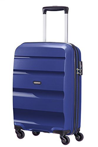 American Tourister Bon Air - Spinner 55 cm, 31.5 liters, Cabin Luggage, Midnight Navy from American Tourister