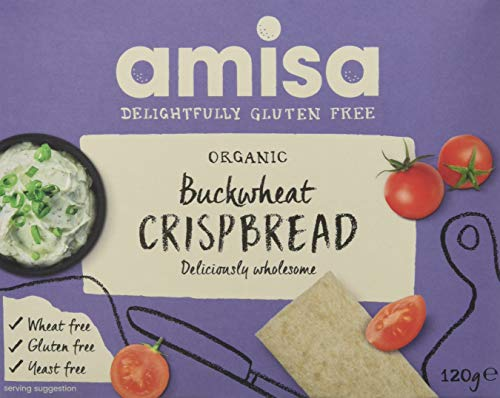 Amisa Organic Buckwheat Crispbread 120g (Pack of 6) from Amisa