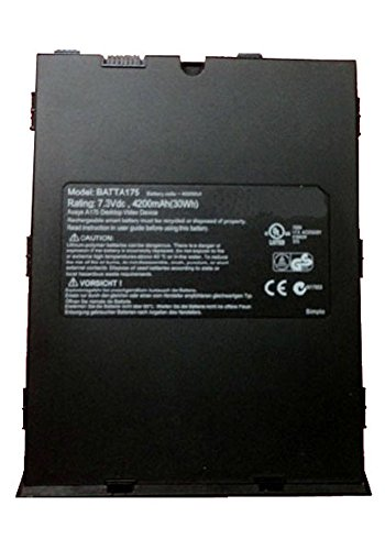 Amsahr 4200 mAh 30 Wh 7.3 V Replacement Battery for Avaya A175 Desktop Video Device/BATTA175 from Amsahr