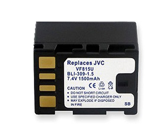 Amsahr Digital Replacement Battery for JVC BN V114SU, V114U, V114US, V107, V107U, V107B, V107S Camera from Amsahr