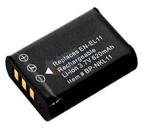 Amsahr Digital Replacement Battery for Nikon EN-EL11, Sanyo DB-L70, Ricoh DB-80, Coolpix S560, S550 Camera from Amsahr