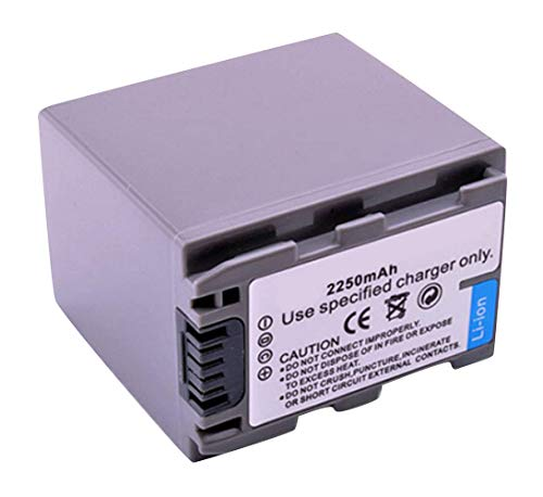 Amsahr Digital Replacement Battery for Sony NPFP90, NP-FP90, DCR-HC30, DCR-HC40, DCR-HC65, DCR-HC42 Camera from Amsahr