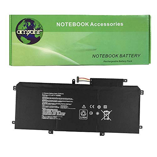 Amsahr Replacement Battery for Asus UX305, U305F, U305FA from Amsahr