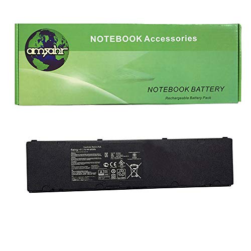 amsahr 11.1 V 44 Wh Replacement Battery for ASUS C31N1318/ROG PU301/ROG Essential PU301/PU301LA-RO064G/PU301L/ROG PU301L from Amsahr