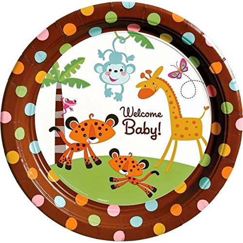 Amscan International 26 cm Fisher Price Paper Plates from Amscan International