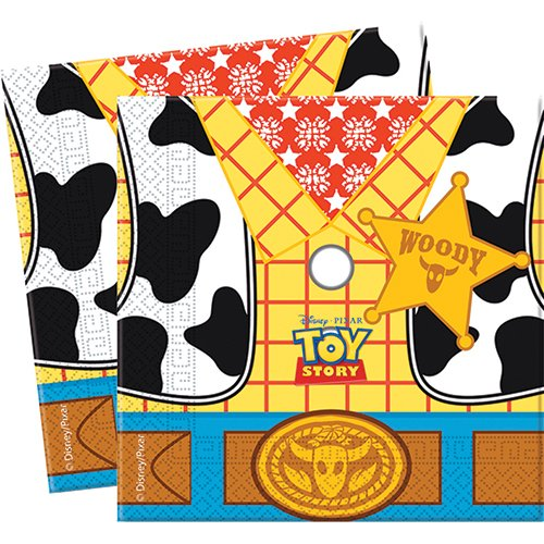Unique Party Amscan T'story Star Pow Paper Napkins Party Accessory from Unique Party