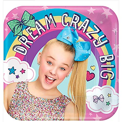 JoJo Siwa Birthday Party Lunch Plates - 8 Pack from amscan