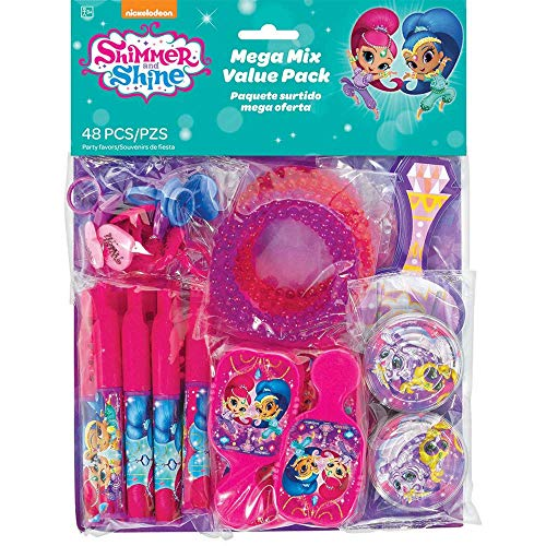 "Amscan International 397406-99""Shim and Shine 48 Value Favors"" Decoration Set from Amscan International"