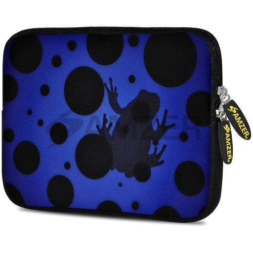Amzer Blue Night Universe Design Neoprene Soft Sleeve for Up to 10.5 inch Tablet from Amzer