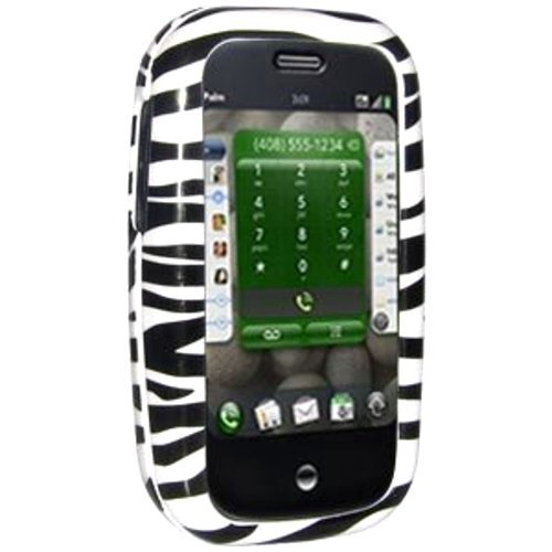 Amzer Zebra Print Snap On Crystal Hard Case with Belt Clip for Palm Pre from Amzer