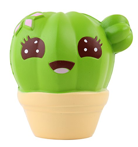 Anboor Squishies Cactus Scented Slow Rising Kawaii Squishies Stress Relief Toy Prime for Collection Gift 1Pcs 10* 4*10.5cm from Anboor