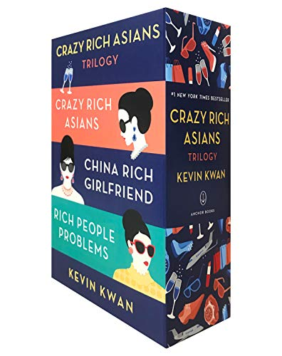 The Crazy Rich Asians Trilogy Box Set from Penguin Random House USA