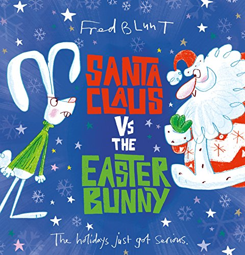 Santa Claus vs The Easter Bunny from Andersen Press