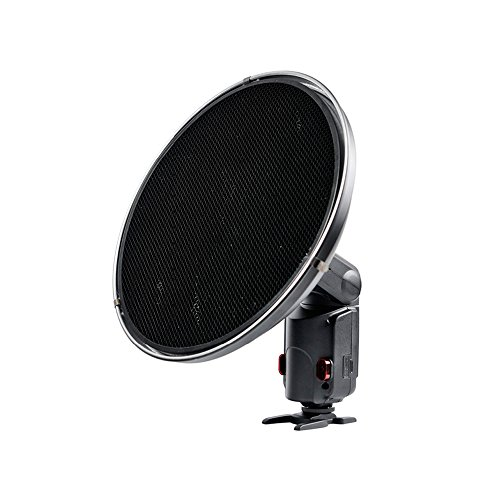 Godox Beauty Dish AD-S3 with Grid AD-S4 for WITSTRO Speedlite Flash AD180 AD360 from Godox