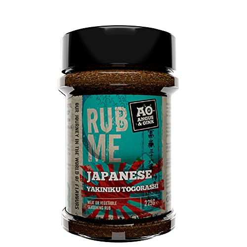 Angus & Oink Rub Me Japanese BBQ Seasoning 220g from Angus & Oink