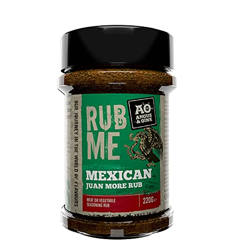 Angus & Oink Rub Me Mexican Jaun More BBQ Seasoning (215g) from Angus & Oink