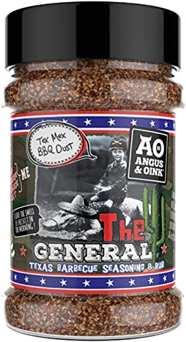 Angus & Oink The General Texas BBQ Seasoning & Rub - (200g) from Angus & Oink
