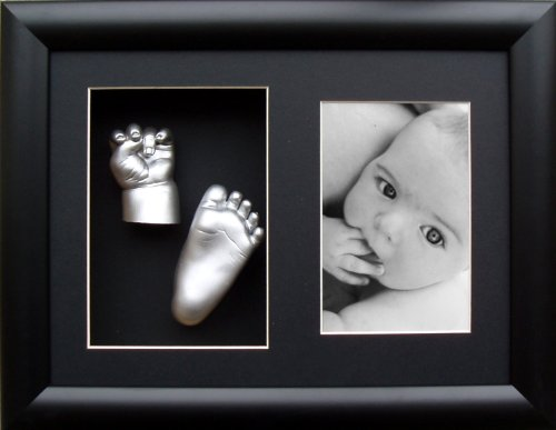 Anika-Baby BabyRice 3D Casting Kit with Black Photo and Display Frame from Anika-Baby