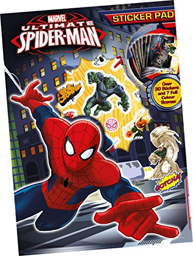 Anker Spiderman Sticker Pad, Plastic, Multi-Colour from Anker