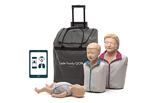 Laerdal Little Family Pack of Manikins for CPR Training with White Skin from Annie family pack