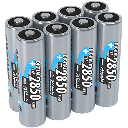 ANSMANN 2850 mAh AA Size Rechargeable Battery 2 (Pack of 4) from Ansmann