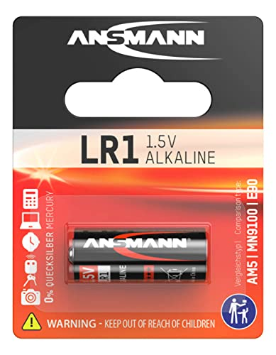 Ansmann LR1 1.5 V Alkaline Battery from Ansmann