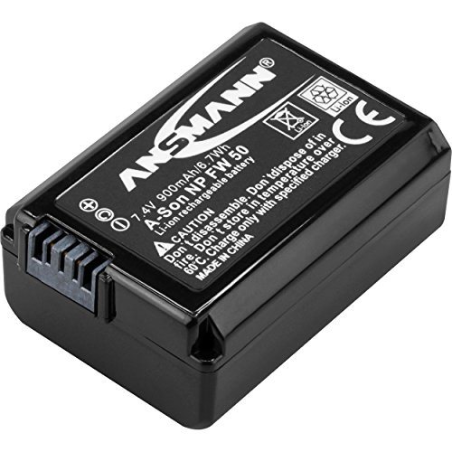Ansmann Li-ion Sony NP FW 50 Equivalent Replacement Battery from Ansmann