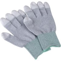 Antistat 109-0910 ESD Carbon PU Tip Glove - Medium - Pair from Antistat