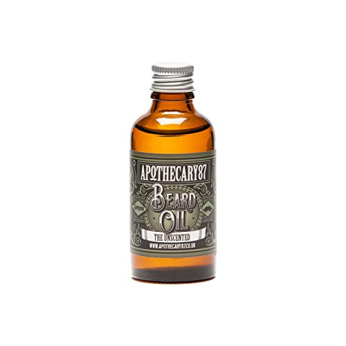 Apothecary 87 Unscented Beard Oil, 50 ml from Apothecary 87