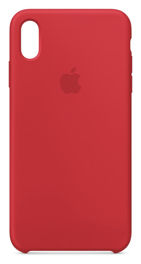 Apple iPhone Xs Max Silicone Phone Case - Red from Apple