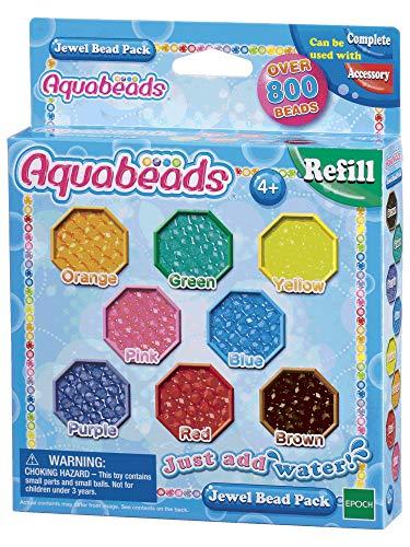 Aquabeads Jewel 79178 Bead Pack - Multi-coloured from Aquabeads