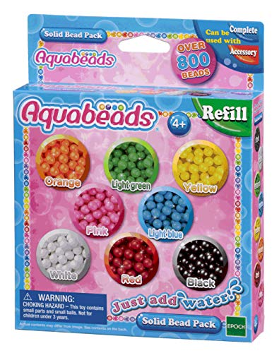 Aquabeads Multicoloured Solid Bead Pack from Aqua Beads