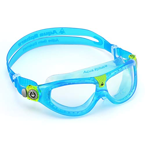 Aqua Sphere Seal Kid 2 Swimming Goggles - Aqua (Clear Lens) from Aqua Sphere