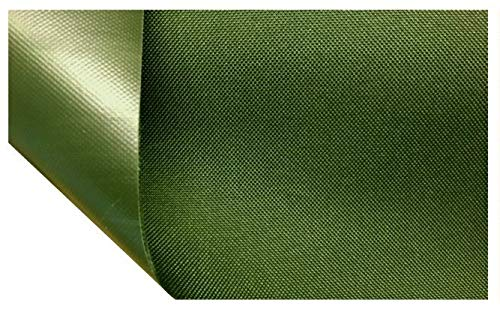 HEAVY DUTY TOUGH 100% WATERPROOF AQUATUF SD 600D OUTDOOR CANVAS FABRIC MATERIAL COVER SEAT (Dark Olive Green) from AquaTuf