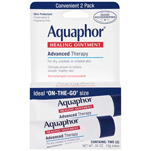 Aquaphor Advanced Therapy Healing Ointment Skin Protectant To Go Pack, 2-0.35 Ounce Tubes from Aquaphor