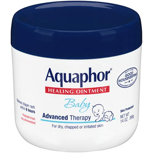 Aquaphor Baby Healing Ointment for Dry or Cracked Skin, Jar - 14 Oz from Aquaphor