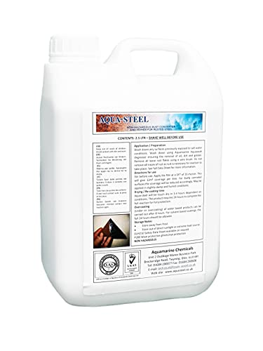 Aquasteel Rust Converter and Primer 2.5 Litre from Aquasteel