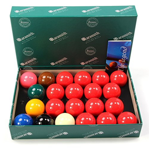 2inch (50.8mm) Aramith Premier Snooker Ball Set - 22 Balls from Aramith
