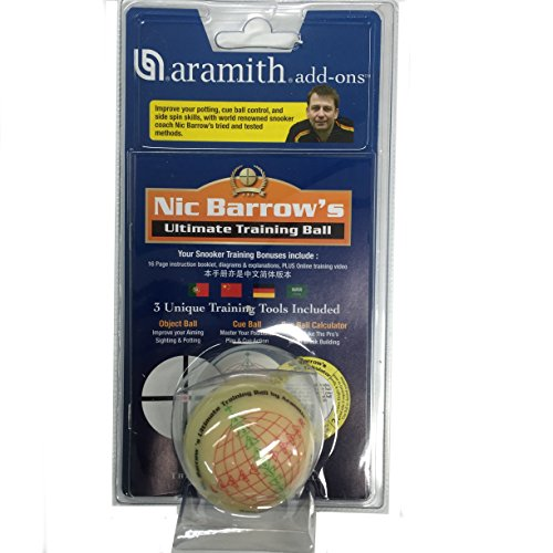 ARAMITH NIC BARROW'S ULTIMATE SNOOKER TRAINING BALL** from Aramith