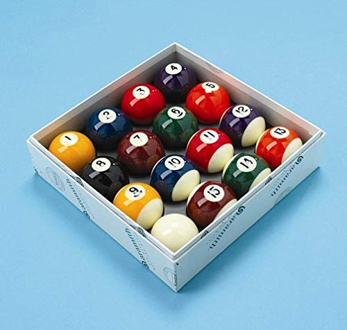 Aramith Pool Balls Spots and Stripes UK 2 Inch Set from Aramith