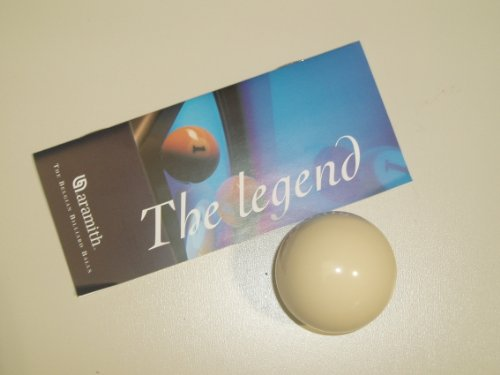 Aramith Pool Table White Ball - 1 7/8 inch UK Size from Aramith